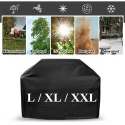 BBQ Grill Cover L XL XXL Gas Barbecue Heavy Duty Protection Waterproof Outdoor $12.85