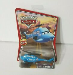 DISNEY PIXAR CARS DINOCO HELICOPTER THE WORLD OF CARS SERIES New in Package $27.95