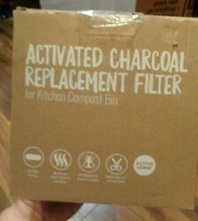Active Home 12 Pack Activated Charcoal Replacement Filters for Kitchen Compost $18.99