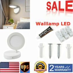 LED Wall Lamps Modern 110 240V Bedside For Home Warm White Lamp Bedroom NEW $27.32