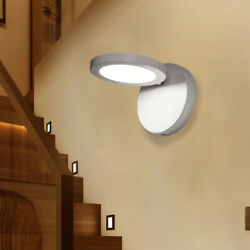 110 240V Wall Lamps Modern LED Bedside For Home 9W Warm White Lamp Bedroom 5㎡ $27.67