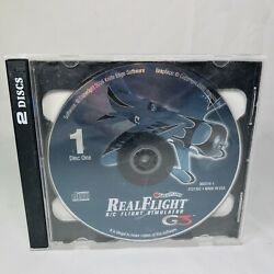 Great Planes Real Flight R C Airplane Simulator G3 PC CD ROM Discs Software Heli $32.99