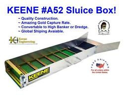 Keene A52 SLUICE Box Catch more GOLD This is the Industry Stander. $140.00
