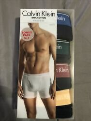 Calvin Klein Large Men#x27;s 4 Pack Boxer Brief Black. $35.00. NEW $25.00