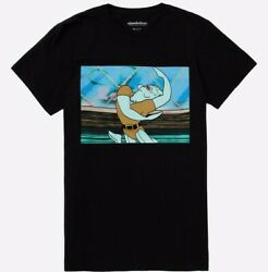 Nickelodeon SpongeBob SquarePants Handsome Squidward Dancing T Shirt New $14.99