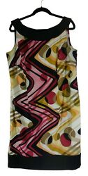 18W 2X SEXY Womens ABSTRACT PRINT SHIFT DRESS Sheath Spring Summer PLUS SIZE $49.99
