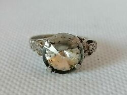 Ancient Antique Viking Silver Legionary Ring Silver Artifact Authentic Rare Type $45.99