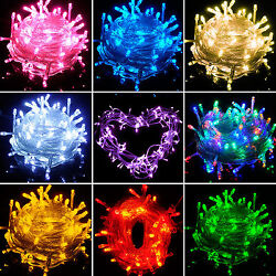 20 30 40 80 LED String Fairy Lights Wedding Indoor Outdoor Xmas Tree Party Decor
