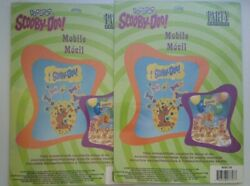 NEW Sealed 2 Scooby Doo Mobile Decoration Vintage 1998 by Party Express Birthday $9.99
