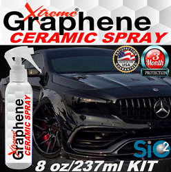 CERAMIC COATING FOR BLACK #x27;WET LOOK#x27; PAINT SEALANT PRO GRADE HIGH GLOSS BOOSTER $24.95