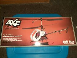 Electric Rc helicopter. Axe cx micro. $42.99