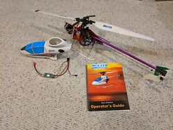 Electric RC Helicopter Lite Machines Corona with Astro Flight 020 brushless $125.00