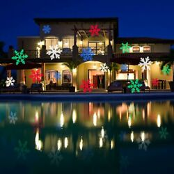 Christmas LED Lights Waterproof Outdoor Holiday Projector 12 Slides with Remote