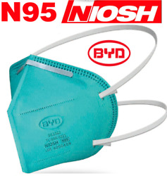 3M N95 Protective Disposable Face Mask Cover NIOSH Respirator 10 PACK NEW $29.97