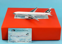JC Wings 1:400 Cathay Pacific Boeing 777 200ER Diecast Aircraft Model B HNC $45.99