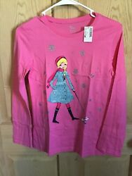 Children's Place long sleeve pink shirt Girl and poodle Girls Size XL 14 NEW $9.00