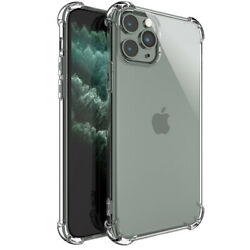 Soft TPU Clear Cushion Shockproof Case Crystal Cover For iPhone 12 Mini Pro Max $2.98