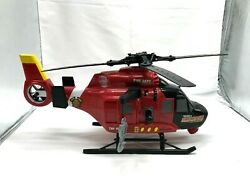 Tonka Helicopter Rescue Fire Department Working Lights amp; Sounds TNK 8659 $11.96