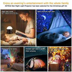 Star Sky Night Lamp Sets for Kids Night Lighting Lampshades with Star Black $33.98