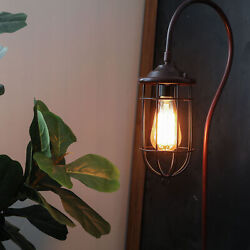 Adjustable 62quot; Industrial Arched Floor Lamp w 40W Edison Bulb Standing Light $48.99