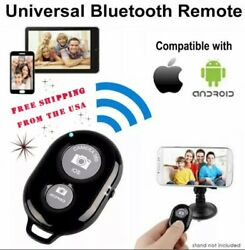 Wireless Bluetooth Cell Phone Selfie Shutter Timer Release Camera Remote Control $1.99
