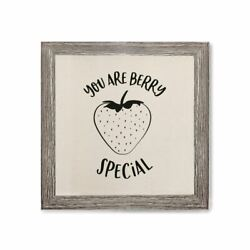 You Are Berry Special Canvas Kitchen Wall Art $12.00