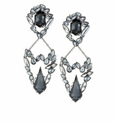 Alexis Bittar Miss Havisham Chandelier Clip Earrings NWT $300.00