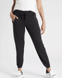 Athleta Recover Bounce Back Jogger Black Size Medium Sweatpants #487575 $48.98
