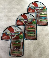 Micro Machines 2020 Christmas Holiday three 2 packs total of 6 cars $22.00