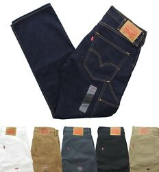 Levi#x27;s 505 Men#x27;s Carpenter Jeans Straight Leg Blue Jean Pants Denim 8 Pocket $29.99