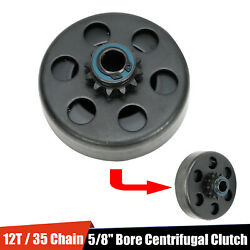 12T Torque Go Kart Centrifugal Clutch 5 8quot; Bore 35# Chain 12 Tooth Sprocket $22.99