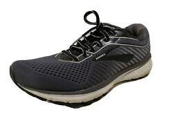 Brooks Ghost 12 Mens Shoe Black Pearl Oyster Sz 9.5 $49.99