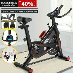 Indoor Exercise Bike Cycling Upright Bike Stationary Home Cardio Workout Machine $168.99