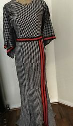 Designer inspired maxi. large. Preowned. Layered cape. Gorgeous $65.00