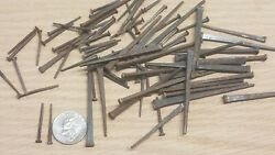 Small Lot Authentic ANTIQUE CUT NAILS VINTAGE 1867 $6.50