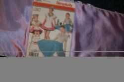 Simplicity #3836 Poodle Skirts and Tops. New.Sz HH 3456 Child and Girls $6.00