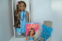 American Girl Doll Kanani Complete Meet Outfit Plus Party Outfit Book Boxes $290.00