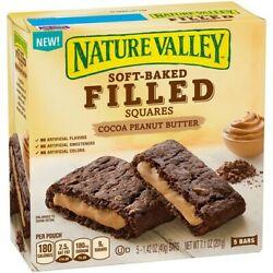 Nature Valley Soft Baked Filled Squares Cocoa Peanut Butter $11.95
