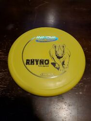 Innova Disc Golf DX Rhyno 175g Yellow with Silver Stamp $11.99