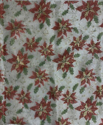 1 Yard 14″ Vintage Material Scrap Fabric Swatch Floral Teal Pink Yellow Flower $9.99