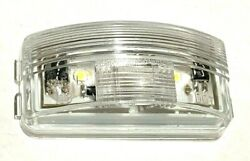 Replacement Lamp for Truck Lite Clear LED License Plate Lamp 15205 no cables $9.29