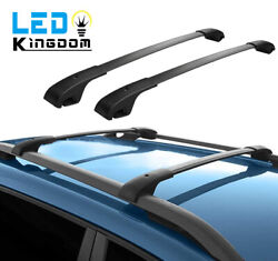Roof Cross Bars for 2014 2021 Jeep Cherokee Aluminum Luggage Carrier Replacement $63.93