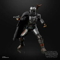 Star Wars Black Series #01 The Mandalorian Beskar Armor In Hand Mando Figure $23.00