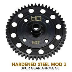 Hot for Racing Hardened Steel Mod 1 Spur Gear ARRMA 1 8 rc parts accessories $27.38
