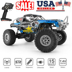 Wltoys 104310 RC Car 1 10 Climbing Car 4WD Dual Motor Off Road 2.4G RTR Toy B9Y5 $65.99