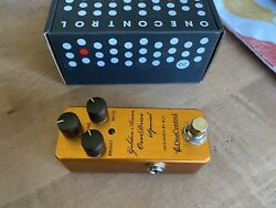 One Control Golden Acorn Overdrive Pedal Designed By BJF $125.00