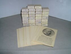 MEDALLIC ART CO. PRESIDENTIAL ART MEDALS .999 PURE SILVER SET OF 30 $950.00