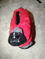 Star Wars Darth Vader Boys Slipper Socks Red Size S M 9 2.5 $4.00