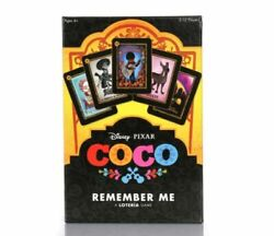 Disney Pixar Coco Remember Me Loteria Mexican Bingo Kids Card Game Sealed amp; New $44.00