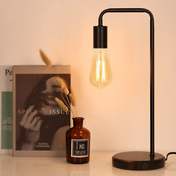Industrial Table Lamp Edison Desk Lamp Small Lamps for Bedroom Office Dorm $25.73